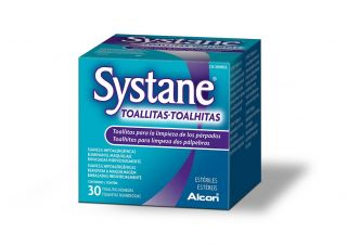Salud visual Systane Systane tovalloletes 30 unidades