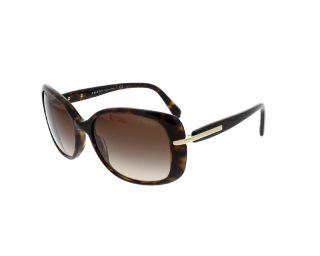 Óculos de sol Prada 0PR08OS Castanho Retangular