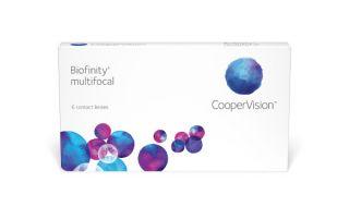 Lentes de contacto Biofinity Biofinity Multifocal 6 unidades