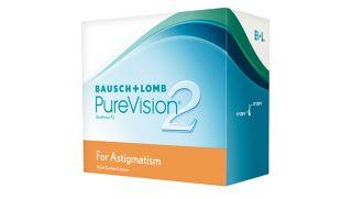 Lentes de contacto Purevision Purevision 2 HD Tórica 6 unidades