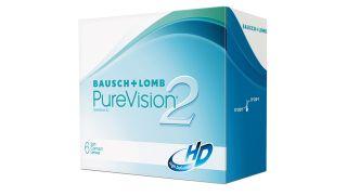 Lentes de contacto Purevision Purevision 2 HD Esférica 6 unidades