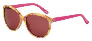 Óculos de sol Loewe SLW810 Amarelo Redonda