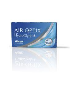 Lentes de contacto Air Optix Air Optix Plus HydraGlyde 3 unidades