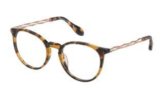 Óculos Carolina Herrera New York VHN588S Castanho Redonda