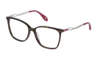 Óculos Carolina Herrera New York VHN589M Castanho Quadrada