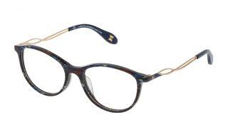 Óculos Carolina Herrera New York VHN590M Azul Redonda