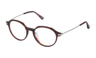 Óculos Dunhill VDH116G Castanho Redonda