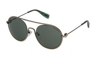 Óculos de sol Trussardi STR251 Preto Redonda