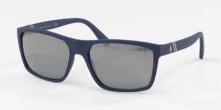 Óculos de sol Polo Ralph Lauren PH4133 Azul Retangular