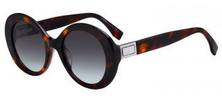 Óculos de sol Fendi FF0293 Castanho Ovalada
