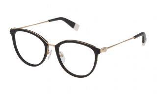 Óculos Furla VFU202 Preto Redonda