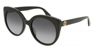 Óculos de sol Gucci GG0325S Preto Borboleta