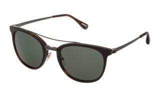Óculos de sol Dunhill SDH134 Castanho Quadrada