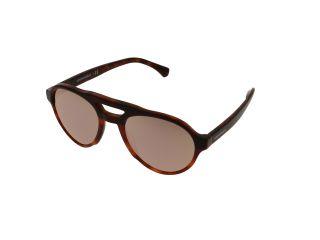 Óculos de sol Emporio Armani 0EA4128 Preto Aviador
