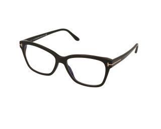 Óculos Tom Ford TF5597-B Preto Borboleta