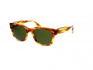 Óculos de sol Ermenegildo Zegna EZ0087 Castanho Quadrada