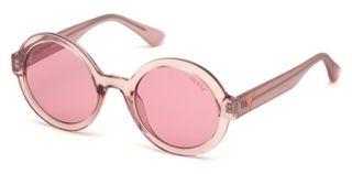Óculos de sol Guess GU7613 Rosa/Vermelho-Púrpura Redonda