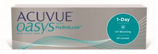 Lentes de contacto Acuvue Acuvue Oasys 1-Day with Hydraluxe 30 unidade