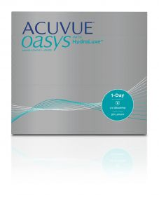 Lentes de contacto Acuvue Acuvue Oasys 1-Day with HydraLuxe 90 unidade