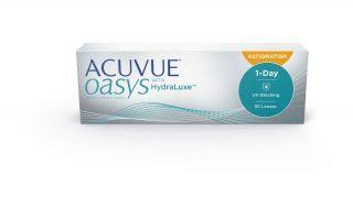 Lentes de contacto Acuvue Acuvue Oasys 1-Day w/HydraLuxe Astigmatism 30unida