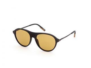 Óculos de sol Ermenegildo Zegna EZ0152 Castanho Aviador