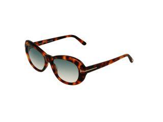 Óculos de sol Tom Ford FT0819 ELODIE Castanho Ovalada