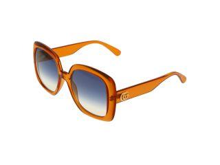 Óculos de sol Gucci GG0713S Laranja Retangular