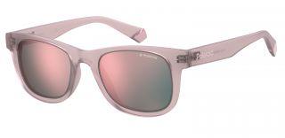 Óculos de sol Polaroid PLD8009/N/NEW Rosa/Vermelho-Púrpura Quadrada