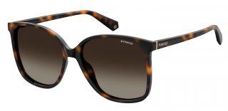 Óculos de sol Polaroid PLD6096/S Castanho Quadrada