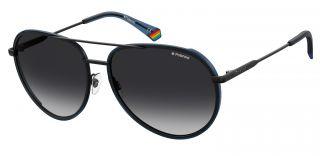 Óculos de sol Polaroid PLD6116/G/S Azul Aviador