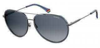 Óculos de sol Polaroid PLD6116/G/S Prateados Aviador