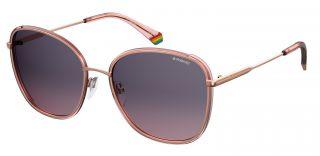 Óculos de sol Polaroid PLD6117/G/S Rosa/Vermelho-Púrpura Quadrada