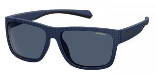 Óculos de sol Polaroid PLD7025/S Azul Quadrada