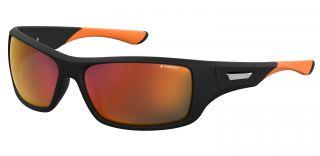 Óculos de sol Polaroid PLD7013/S Preto Retangular