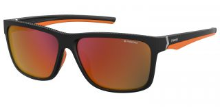 Óculos de sol Polaroid PLD7014/S Preto Quadrada