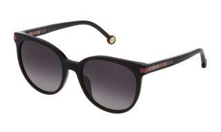 Óculos de sol CH Carolina Herrera SHE830 Preto Redonda