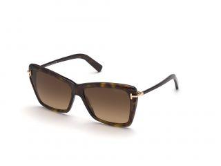 Óculos de sol Tom Ford FT0849 LEAH Castanho Borboleta