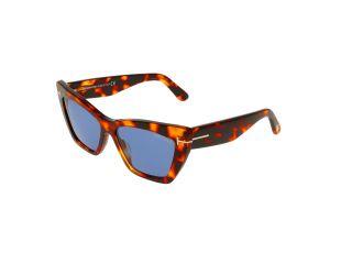 Óculos de sol Tom Ford FT0871 WYATT Castanho Borboleta