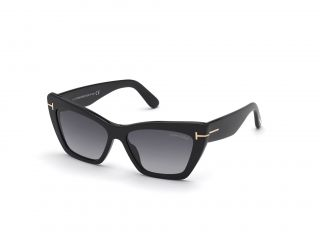 Óculos de sol Tom Ford FT0871 WYATT Preto Borboleta