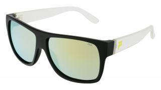 Óculos de sol Fila SF9385 Preto Quadrada