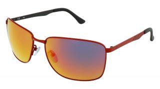 Óculos de sol Fila SFI005 Vermelho Quadrada