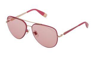 Óculos de sol Furla SFU404 Dourados Aviador