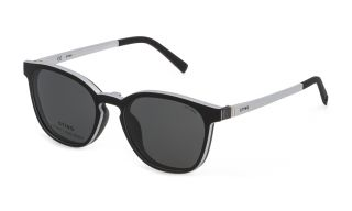 Óculos de sol Sting SST379 Prateados Redonda
