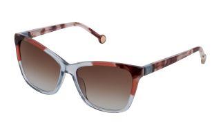 Óculos de sol CH Carolina Herrera SHE844V Azul Quadrada