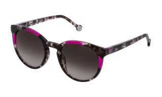 Óculos de sol CH Carolina Herrera SHE845V Cinzento Redonda