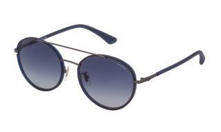 Óculos de sol Police SPL870 Cinzento Redonda