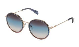 Óculos de sol Tous STO371 Dourados Redonda