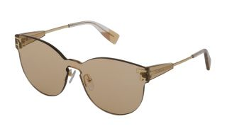 Óculos de sol Furla SFU340 Dourados Ecrã
