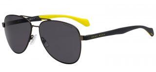Óculos de sol Hugo Boss BOSS1077/S Cinzento Ovalada