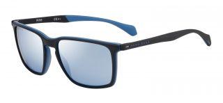 Óculos de sol Hugo Boss BOSS1114/S Azul Retangular